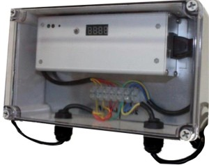 we can supply UV power supplies in weatherproof boxes