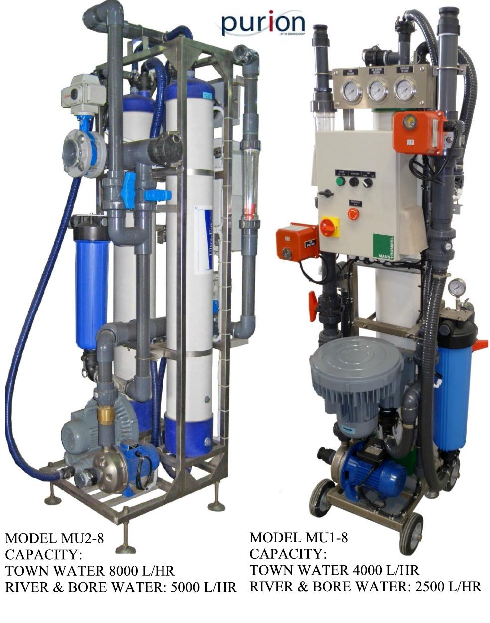 PURION MOBILE ULTRAFILTRATION SYSTEMS