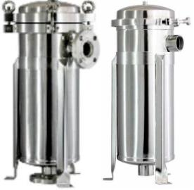 stainless steel housings  for bag filter